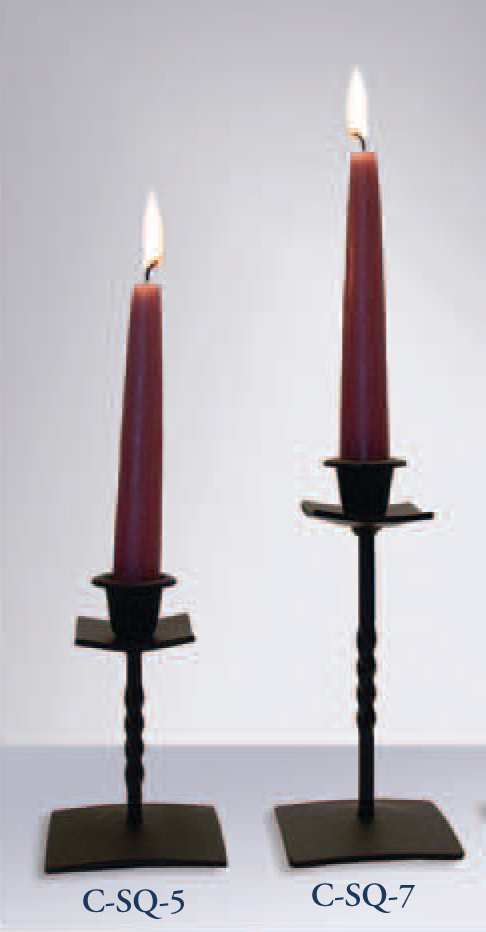 Taper Candle Holder approx 4 1/2 to 5 Inches High