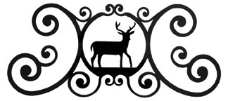 Deer - Over Door Plaque