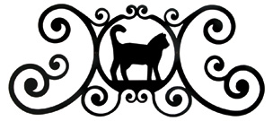 Cat - Over Door Plaque