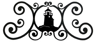 Lighthouse - Over Door Plaque