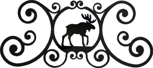 Moose - Over Door Plaque