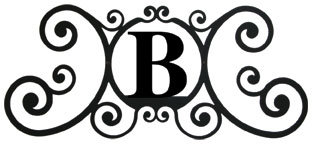 House Plaque Letter B