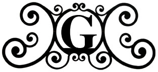 House Plaque Letter G