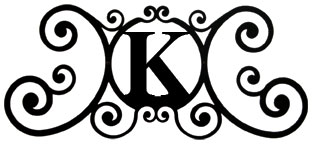 House Plaque Letter K