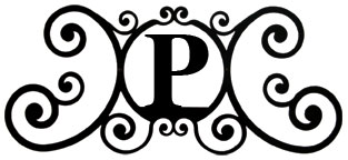 House Plaque Letter P