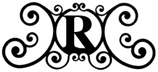 House Plaque Letter R
