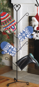 Heart - Mitten or Boot Dryer Holds 4 Pair