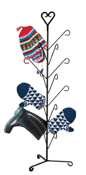 Heart - Mitten or Boot Dryer Holds 8 Pair