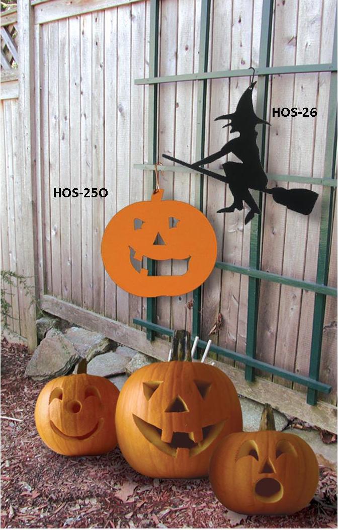 Pumpkin - Decorative Hanging Silhouette-ORANGE