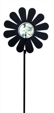 Flower - Marble Garden Stake