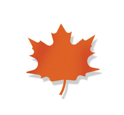 Maple Leaf - Magnet Orange