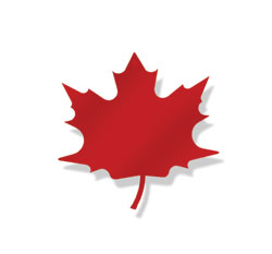 Maple Leaf - Magnet Red