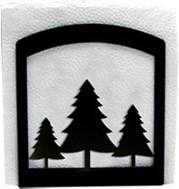 Pine Trees - Napkin Holder