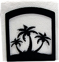 Triple Palm Tree Napkin Hldr