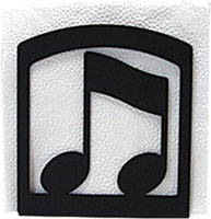 Music Note - Napkin Holder