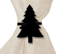 Pine Tree - Napkin Ring