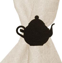 Teapot - Napkin Ring