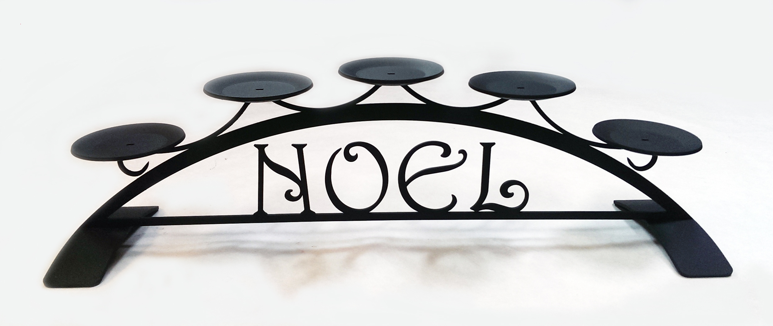 Noel - Table Top Pillar Candle Holder