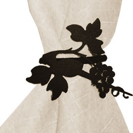 Grapevine - Napkin Ring