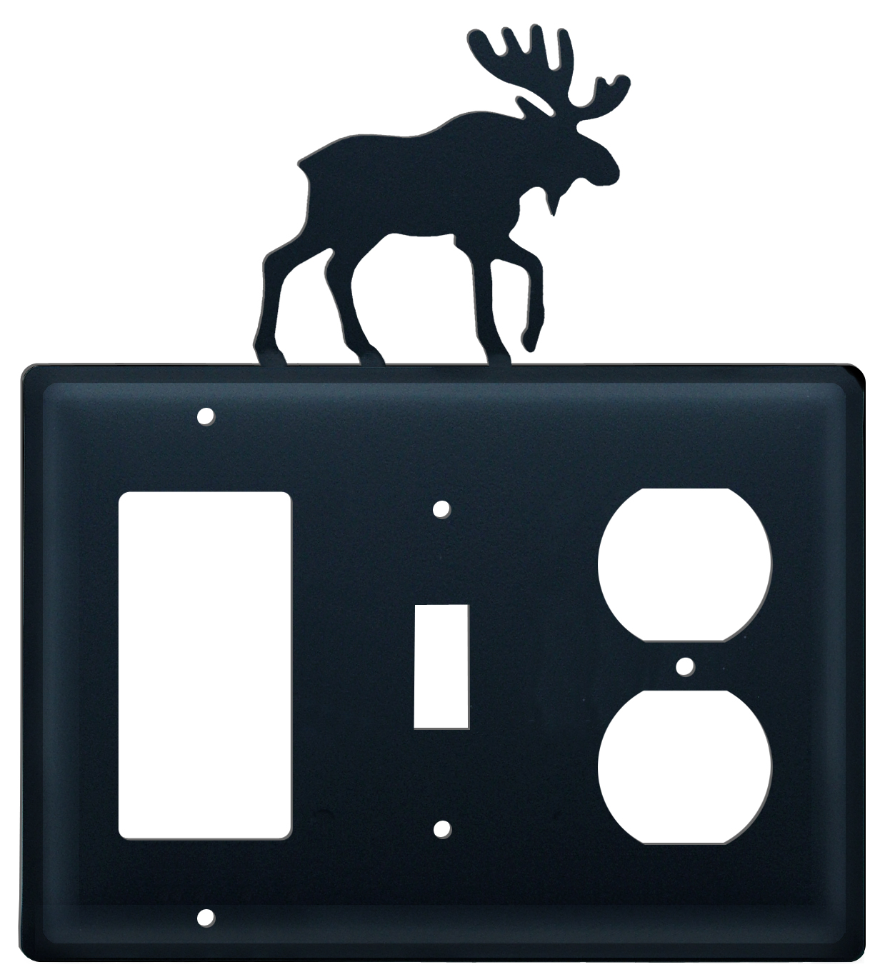 Moose - Single GFI, Switch and Outlet Cover - CUSTOM Product - If Out Of Stock, Allow 4 to 6 Weeks