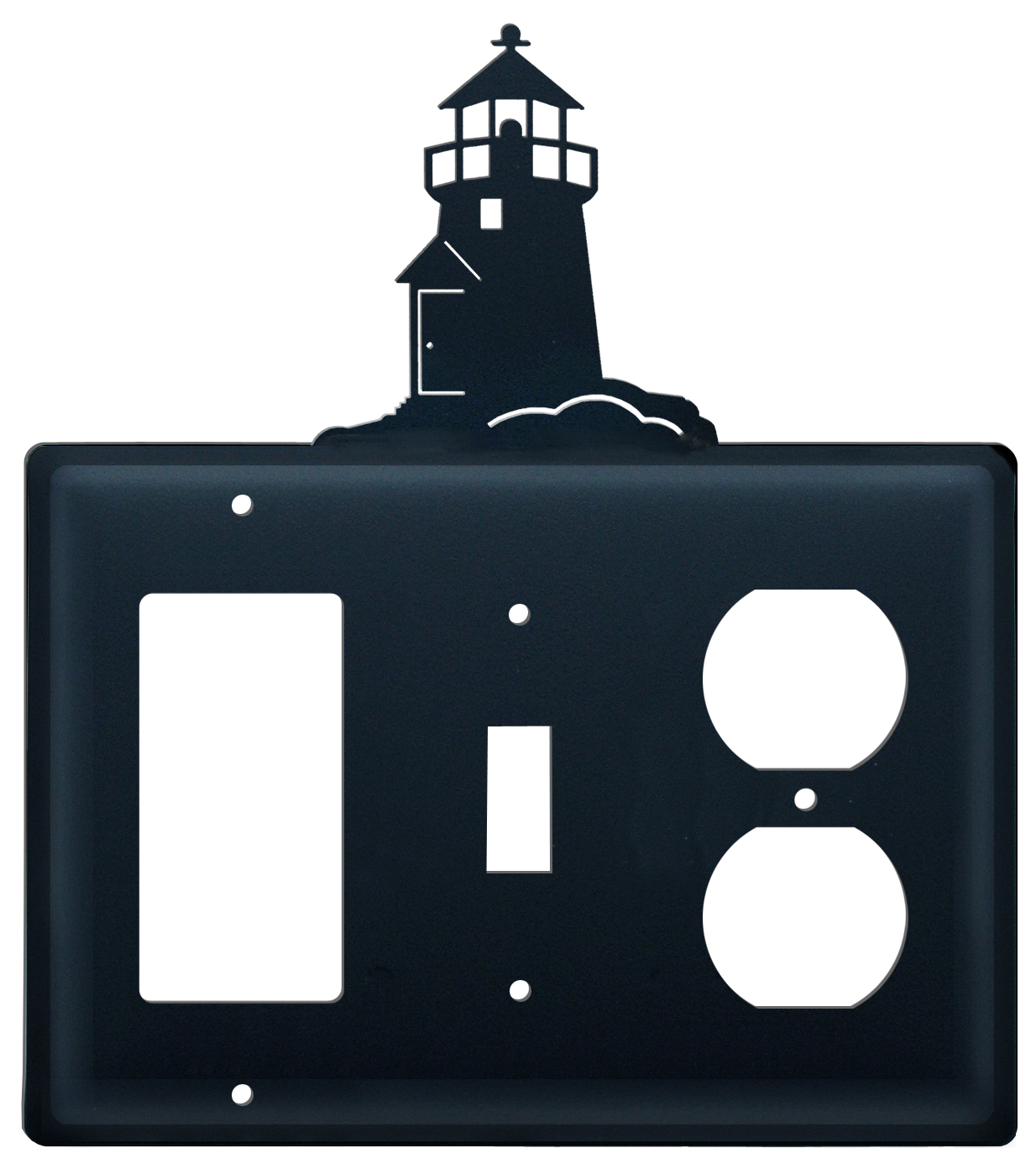 Lighthouse - Single GFI, Switch and Outlet Cover - CUSTOM Product - If Out Of Stock, Allow 4 to 6 Weeks
