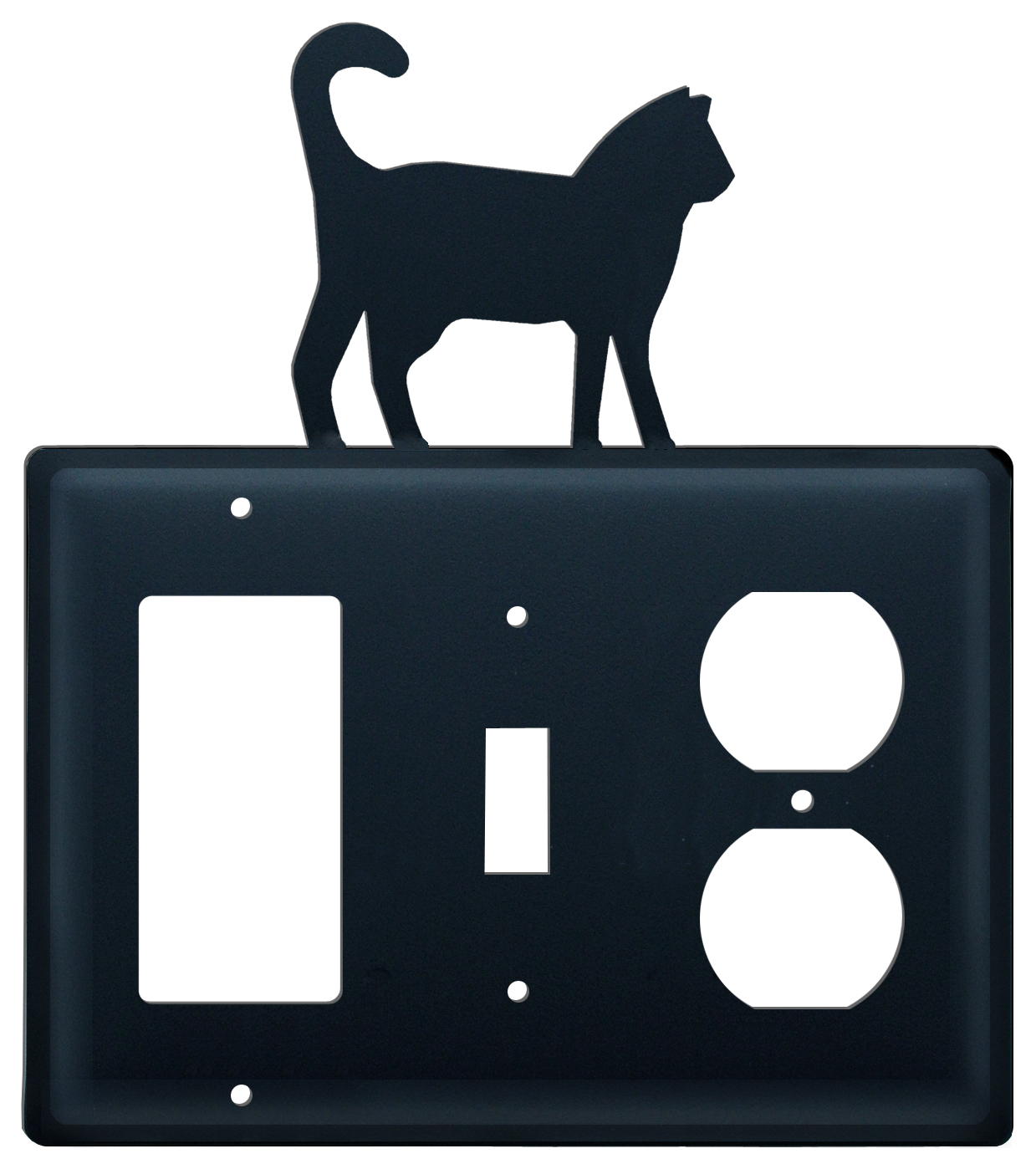 Cat - Single GFI, Switch and Outlet Cover - CUSTOM Product - If Out Of Stock, Allow 4 to 6 Weeks