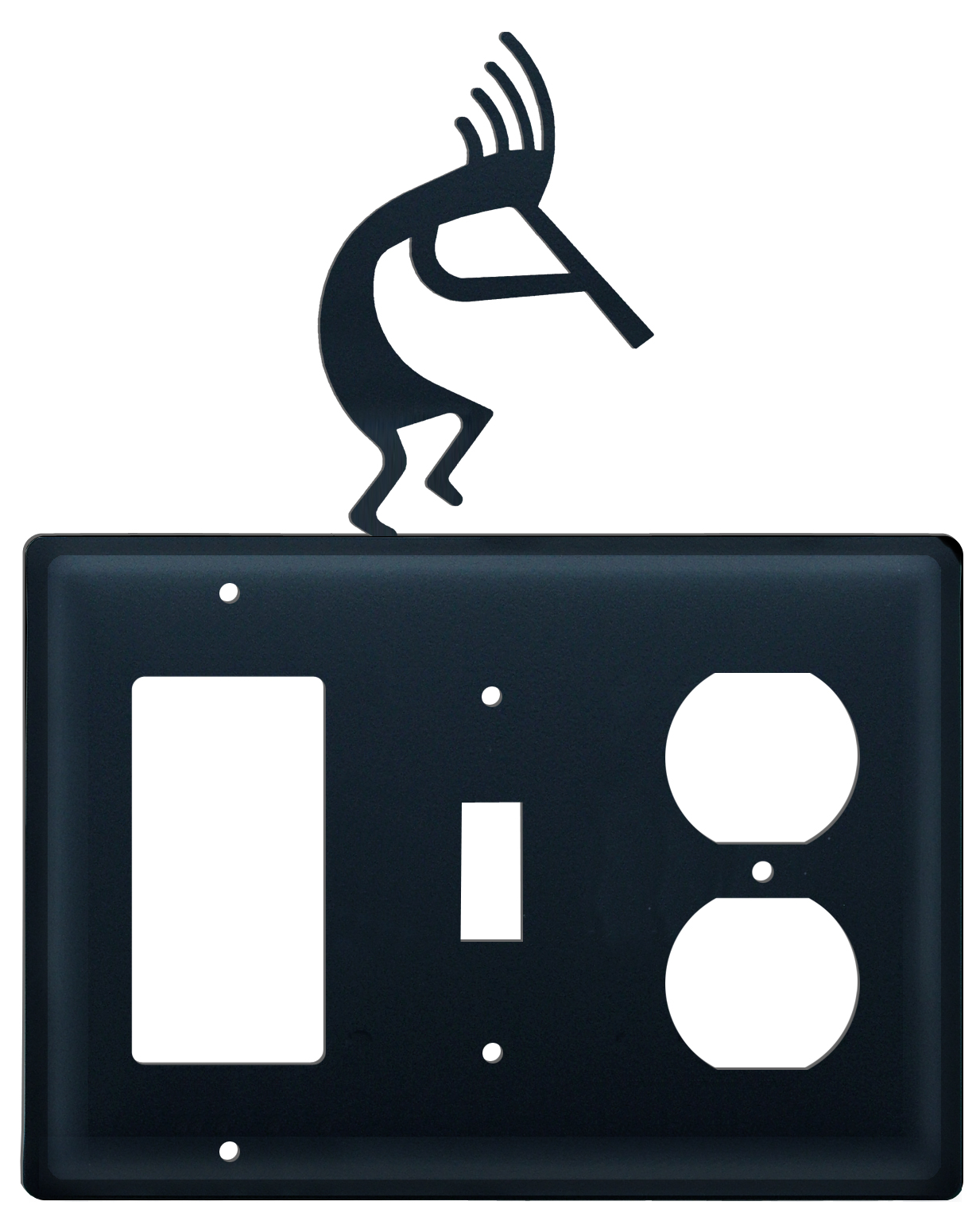 Kokopelli - Single GFI, Switch and Outlet Cover - CUSTOM Product - If Out Of Stock, Allow 4 to 6 Weeks