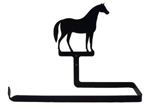 Horse - Paper Towel Holder Horizontal Wall Mount