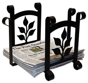 Leaf - Newspaper Recycle Bin
