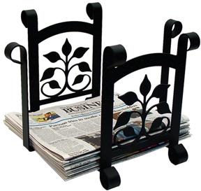Leaf Fan - Newspaper Recycle Bin