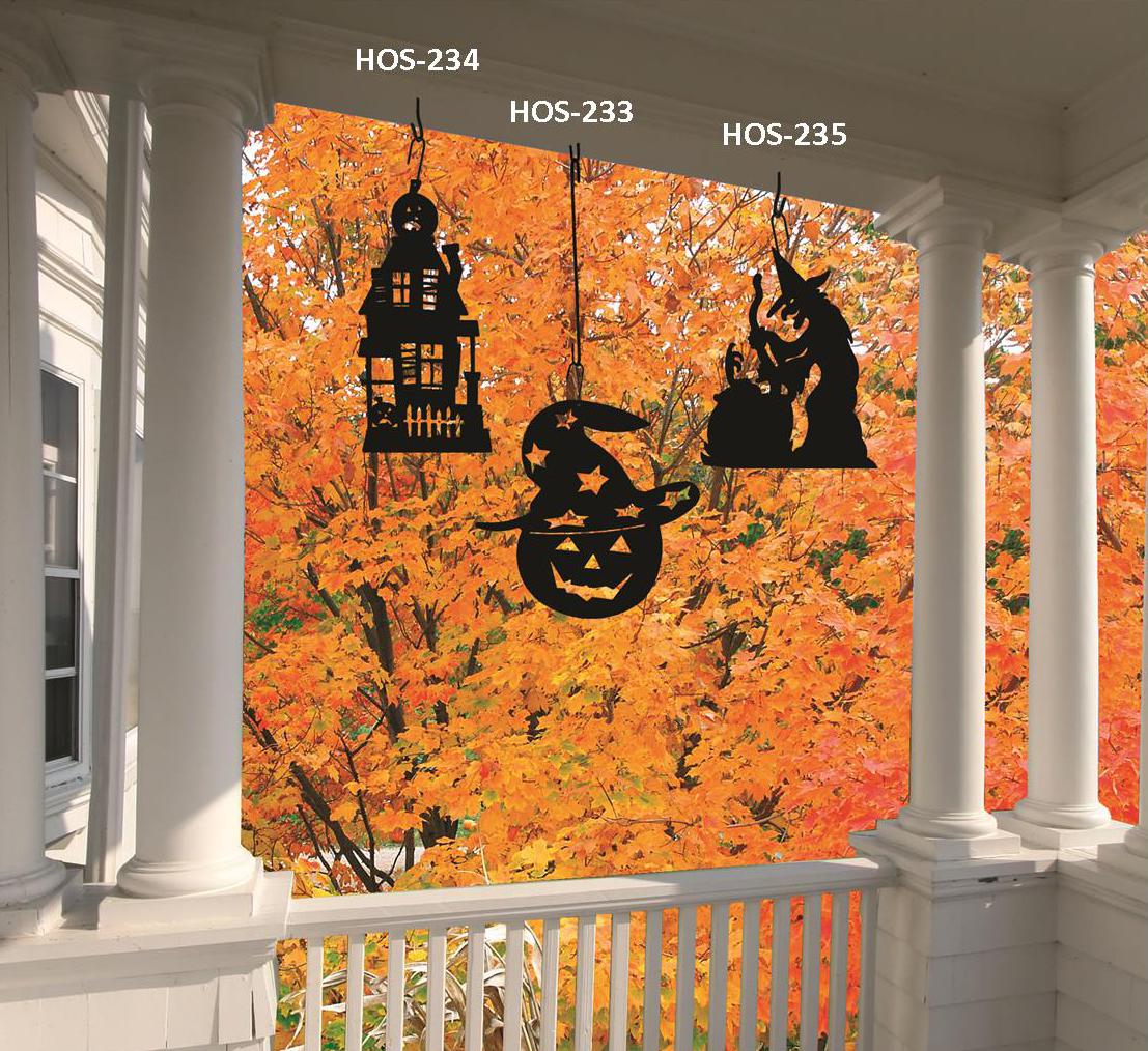Pumpkin-Hat - Decorative Hanging Silhouette