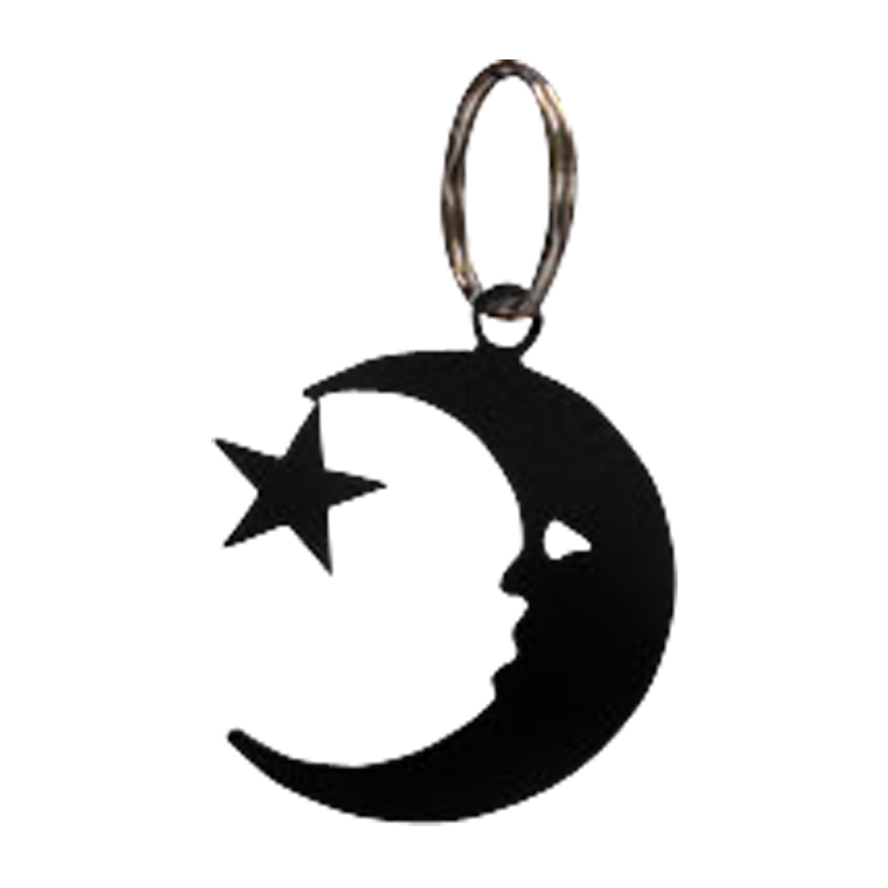 Moon & Star - Key Chain