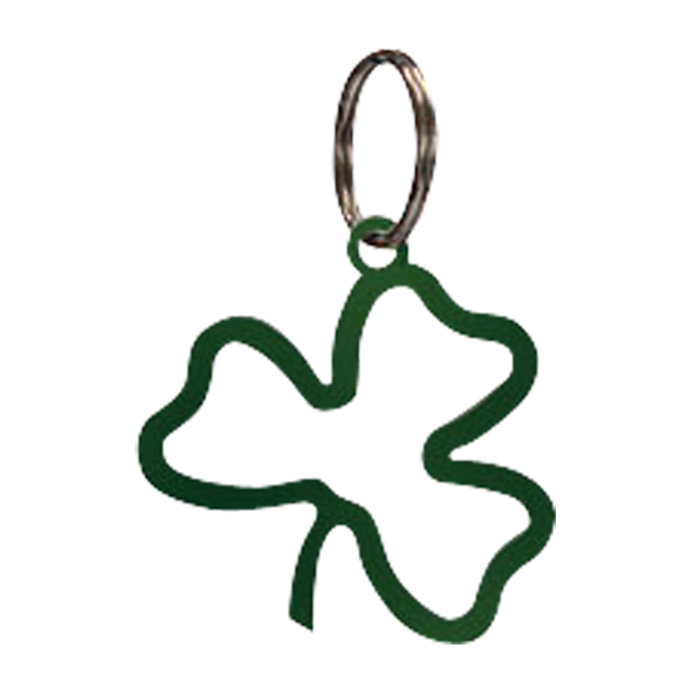 Shamrock - Key Chain-GREEN
