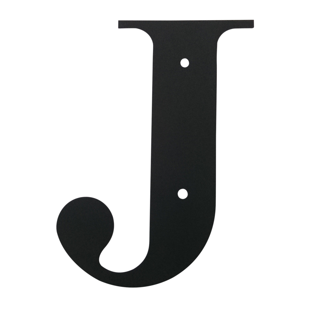 Village Wrought Iron Letter J Large
