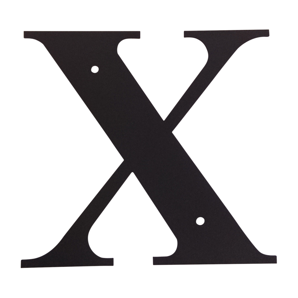 Letter X Small