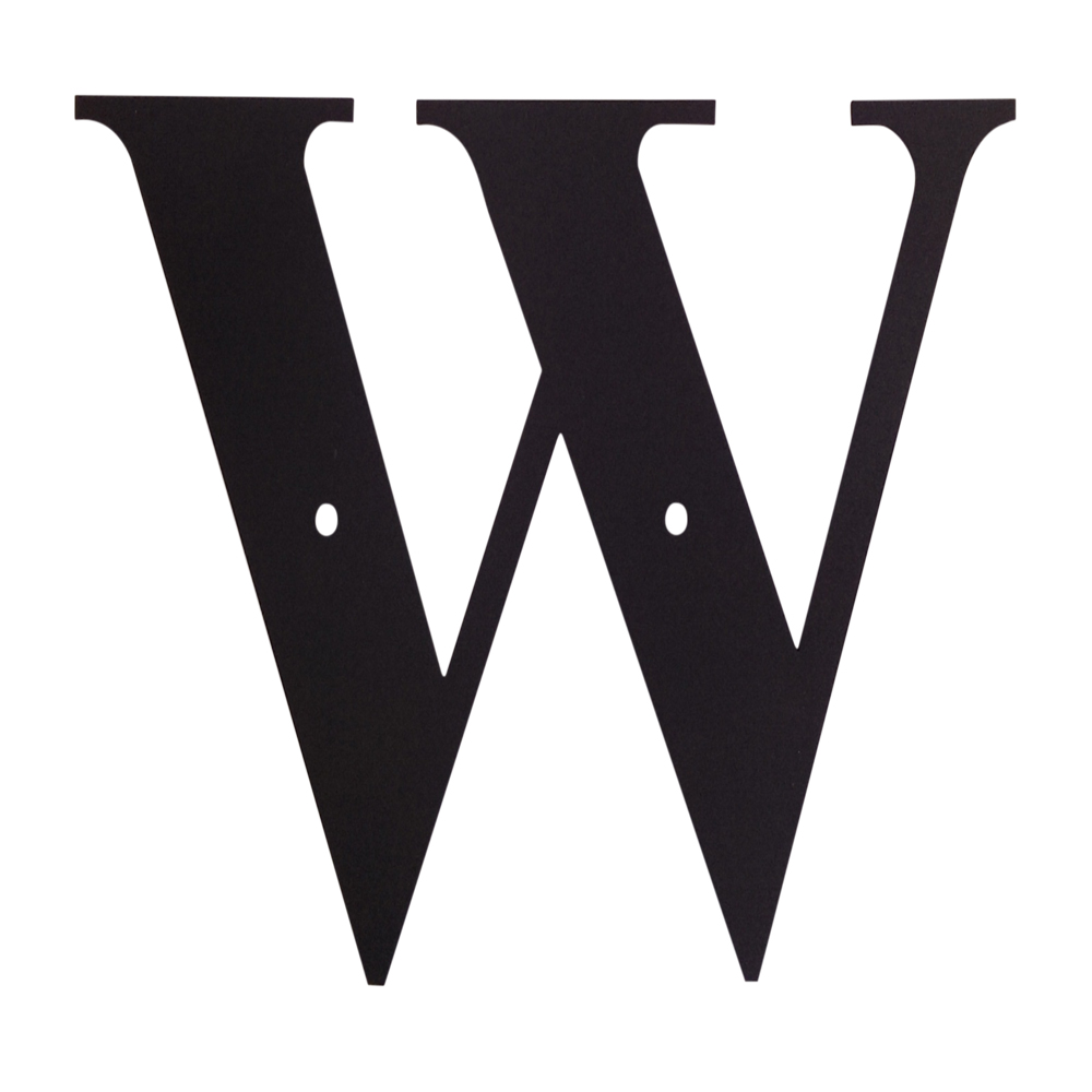 Letter W Small