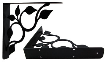 Leaf Fan - Shelf Brackets Large HEAVY
