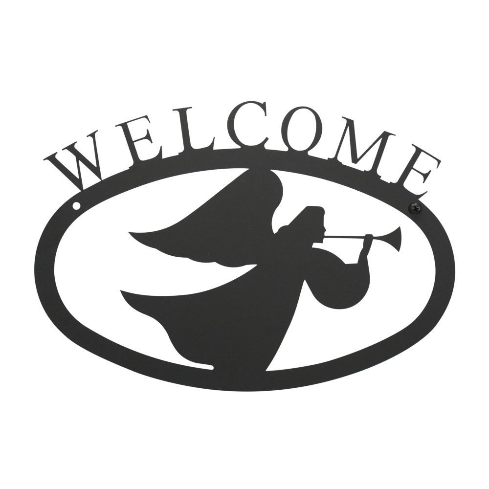 Angel - Welcome Sign Small