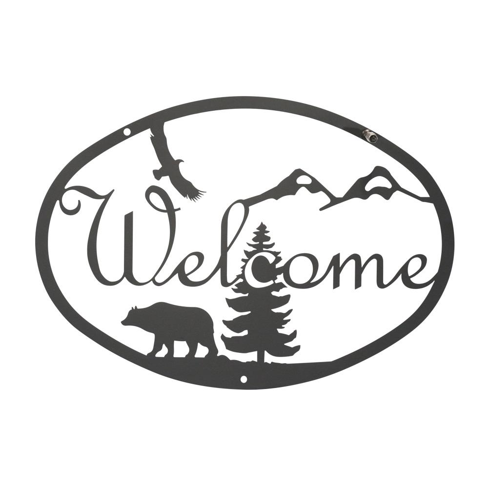 Bear - Welcome Sign Medium