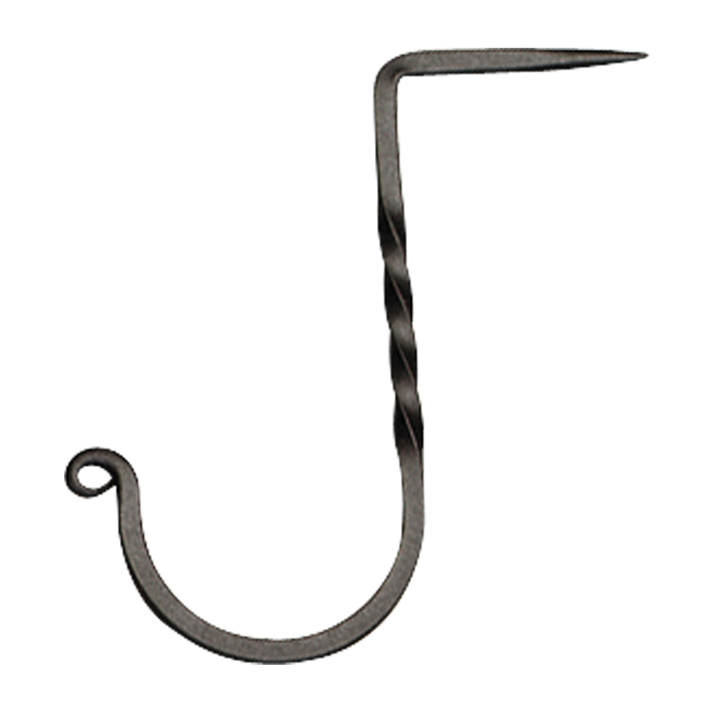 Square Fancy Curl Drive-In Wall Hook