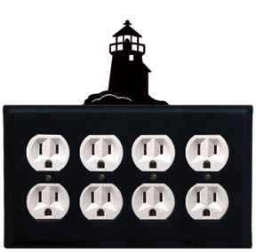 Lighthouse - Quad. Outlet Cover