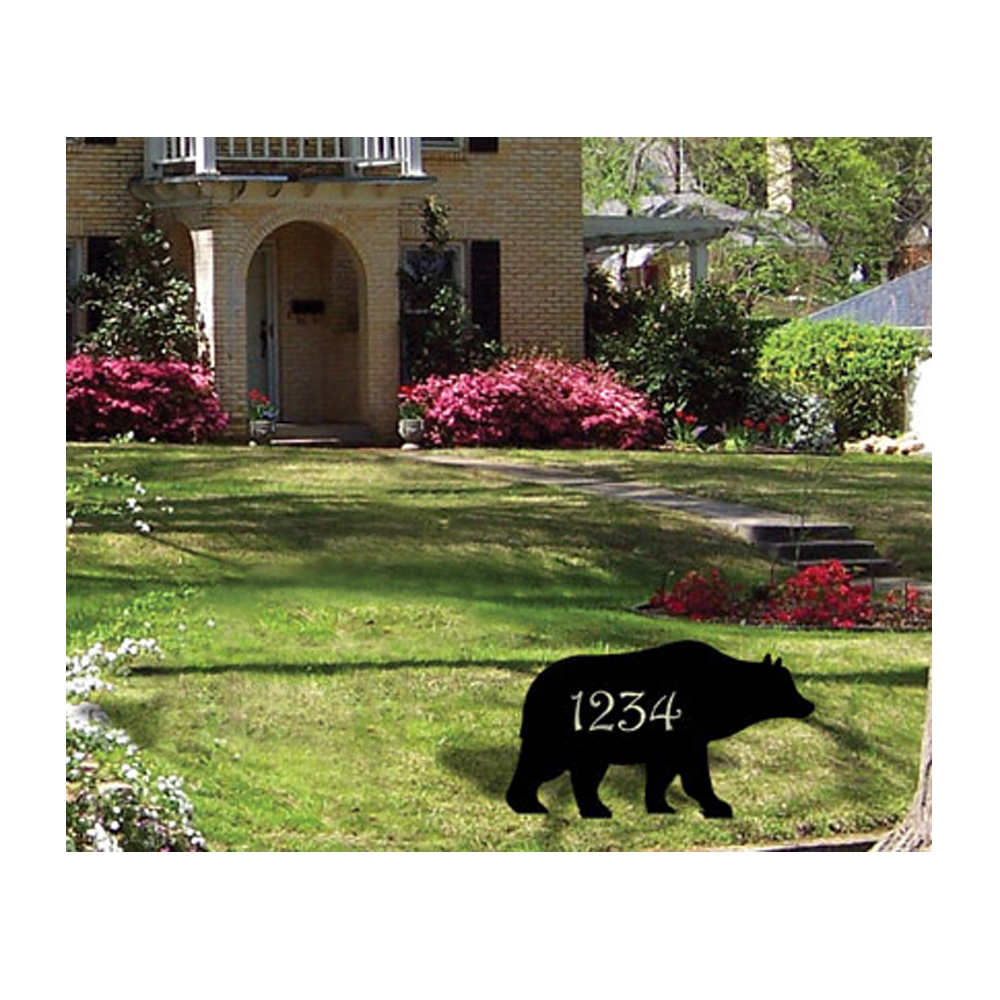 Bear - Customized Lawn Plaque