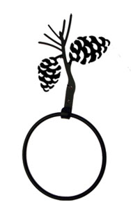 Pinecone - Towel Ring