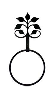 Leaf Fan - Towel Ring