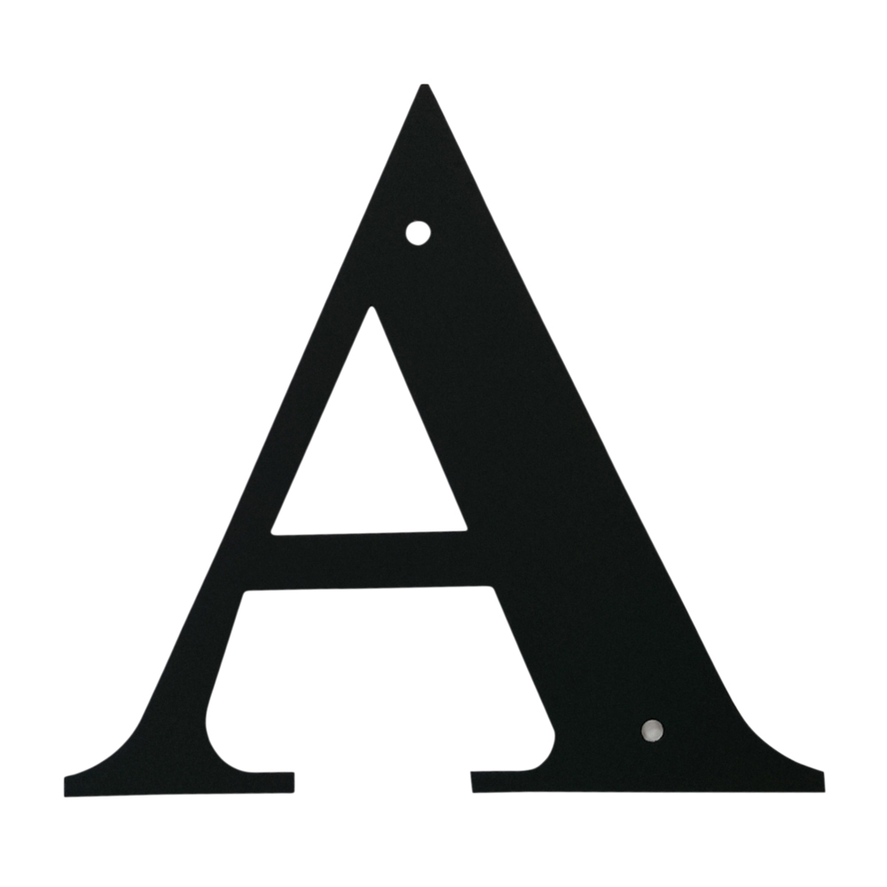 Village Wrought Iron Letter A Small