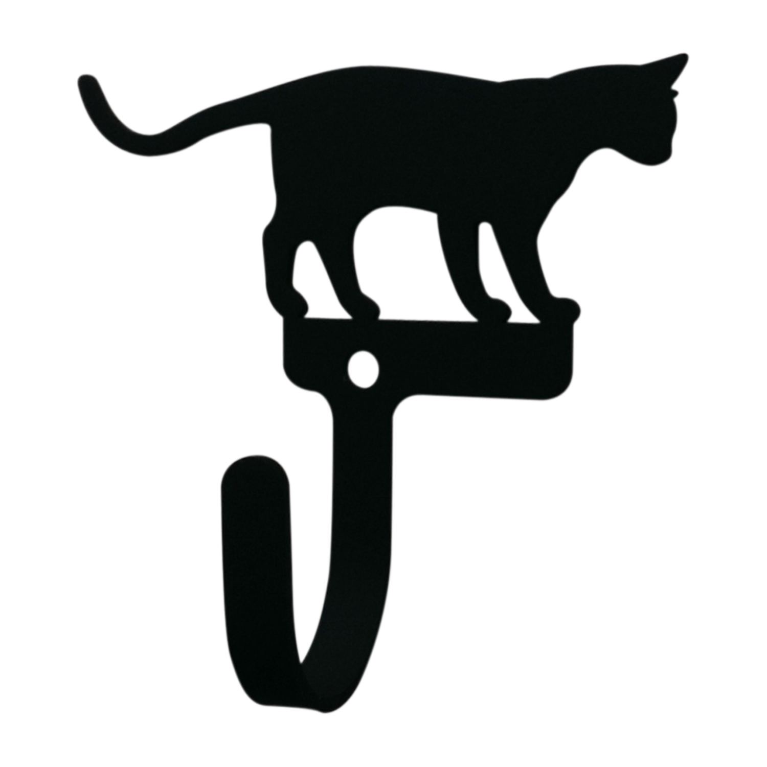 Cat at Play - Wall Hook Small