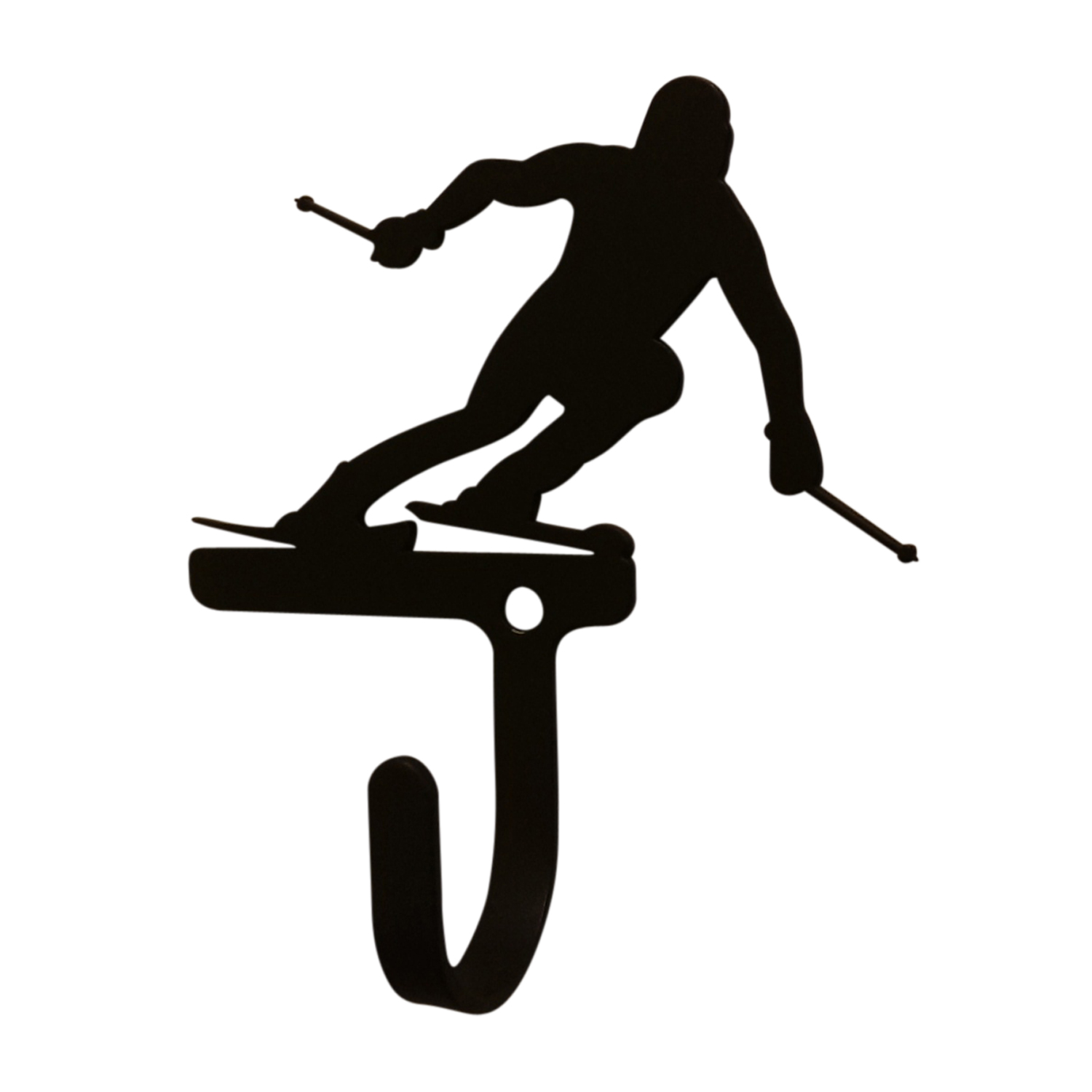 NEW - Skier - Wall Hook Small
