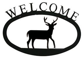 Deer Welcome Sign  Sm