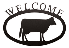 Cow - Welcome Sign Small