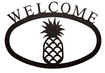 Pineapple - Welcome Sign  Large